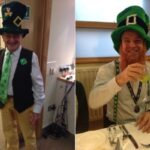 Rotarians go green for Paddy's Day