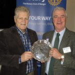 Bangor Rotary celebrates winning Mutual Understanding Award