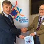 District Governor visits Bangor Rotary