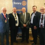 Bangor Rotary supports fight against arthritis at Charity Breakfast