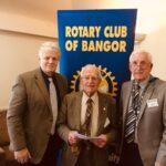 Bangor Rotary welcomes new Honorary Member