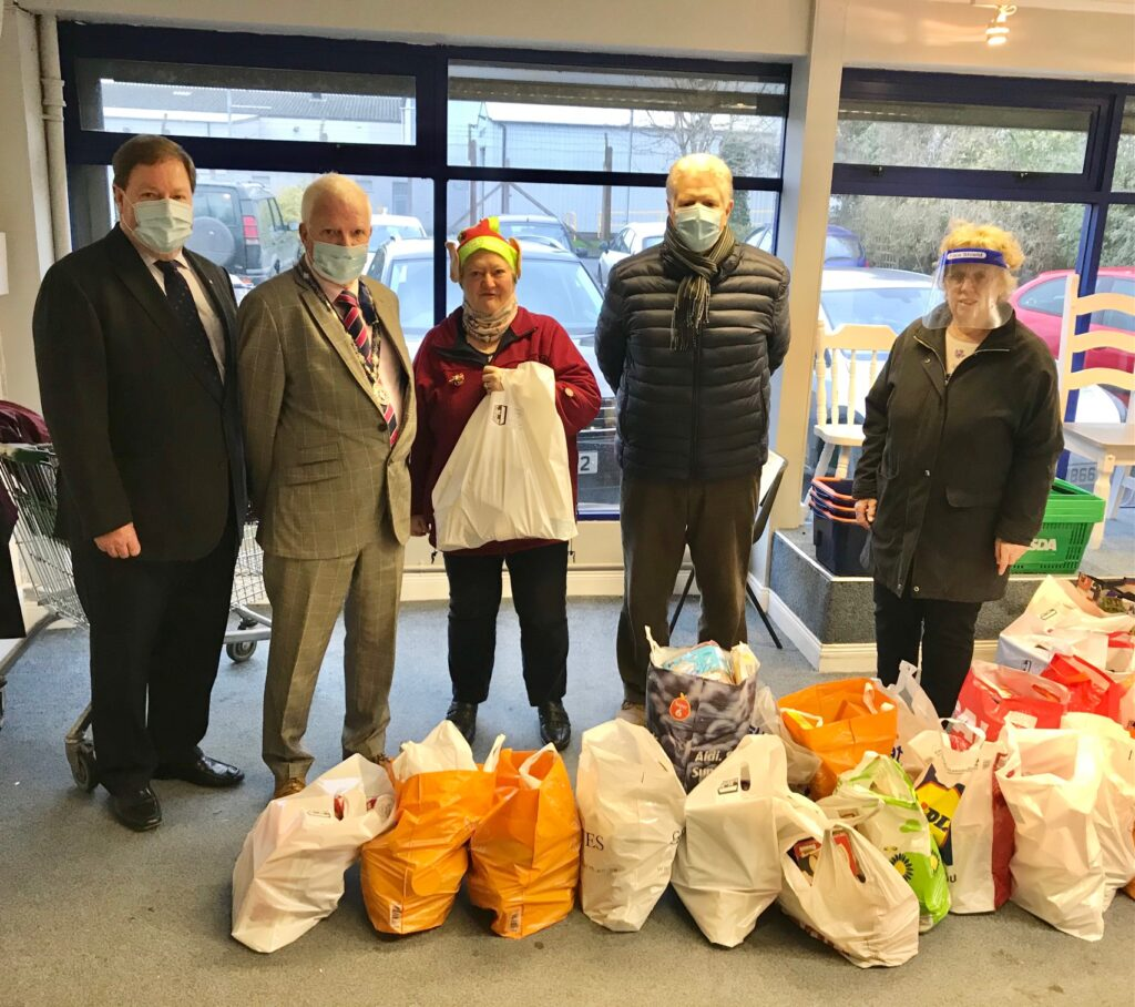 In line with most organisations which seek to assist various charities throughout the year the Rotary Club of Bangor was unable to promote any of it's usual money-raising activities during 2020