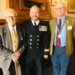 Lt Tim McCullagh visits Bangor Rotary